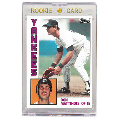 Don Mattingly New York Yankees 1984 Topps # 8 Rookie Card