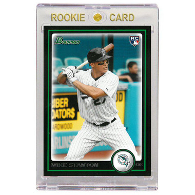 Giancarlo Stanton Miami Marlins 2010 Bowman Draft # 30 Rookie Card