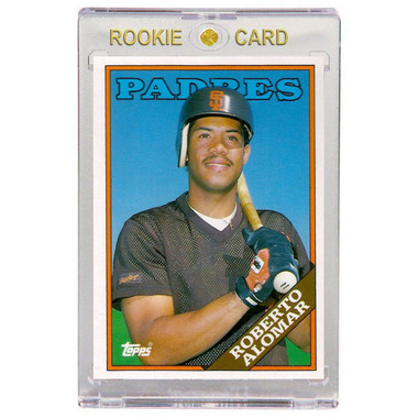 Roberto Alomar San Diego Padres 1988 Topps Traded # 4T Rookie Card
