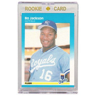 Bo Jackson Kansas City Royals 1987 Fleer # 369 Rookie Card