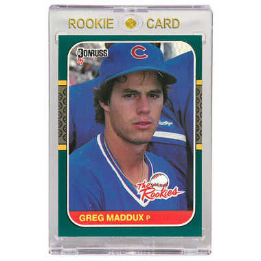 Greg Maddux Chicago Cubs 1987 Donruss The Rookies # 52 Rookie Card