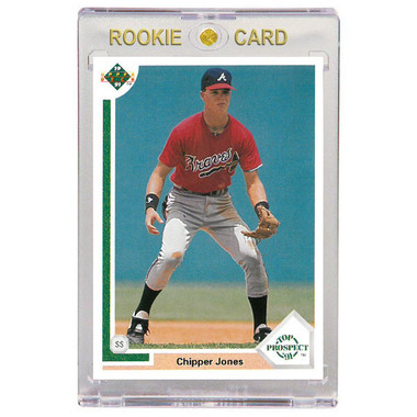 Chipper Jones Atlanta Braves 1991 Upper Deck # 55 Rookie Card