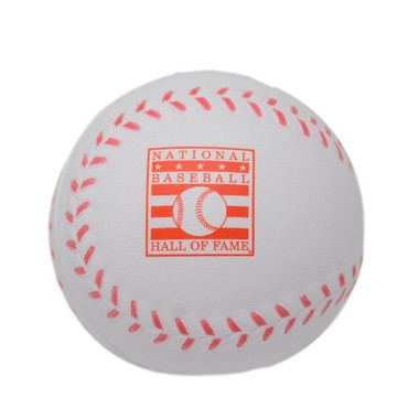 Baseball Hall of Fame Baseball Stress Ball