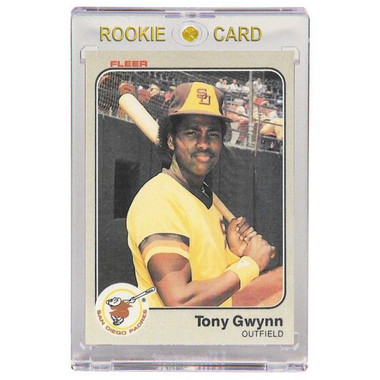Tony Gwynn San Diego Padres 1983 Fleer # 360 Rookie Card