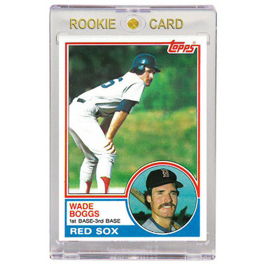 Wade Boggs Boston Red Sox 1983 Topps # 498 Rookie Card