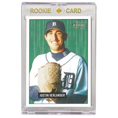 Justin Verlander Detroit Tigers 2005 Bowman Heritage # 220 Rookie Card
