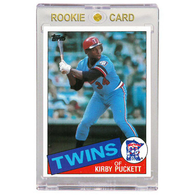 Kirby Puckett Minnesota Twins 1985 Topps # 536 Rookie Card
