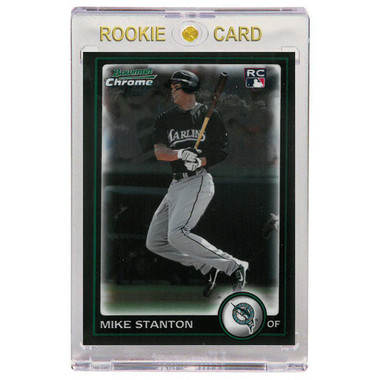 Giancarlo Stanton Miami Marlins 2010 Bowman Chrome # 198 Rookie Card