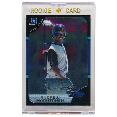 Andrew McCutchen Pittsburgh Pirates 2005 Bowman Chrome Draft # 63 Rookie Card