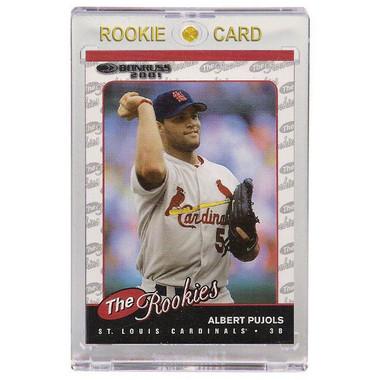 Albert Pujols St. Louis Cardinals 2001 Donruss The Rookies # R97 Rookie Card