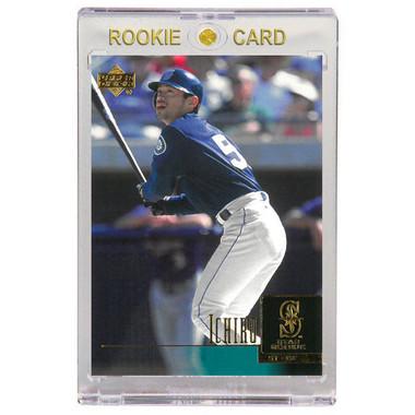 Ichiro Suzuki Seattle Mariners 2001 Upper Deck # 27 Rookie Card