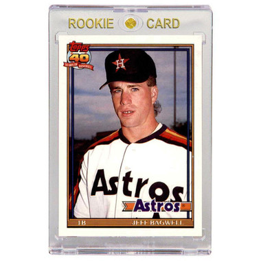 Jeff Bagwell Houston Astros 1991 Topps Traded # T4 Rookie Card