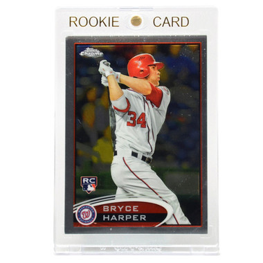 Bryce Harper Washington Nationals 2012 Topps Chrome # 196 Rookie Card
