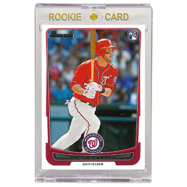 Bryce Harper Washington Nationals 2012 Bowman Draft # 10 Rookie Card