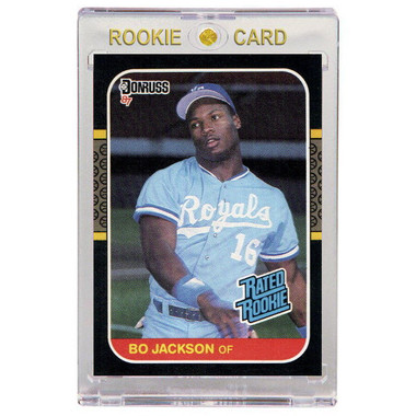 Bo Jackson Kansas City Royals 1987 Donruss # 35 Rookie Card