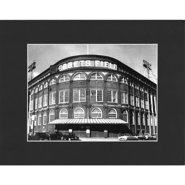 Matted 8x10 Photo- Ebbets Field