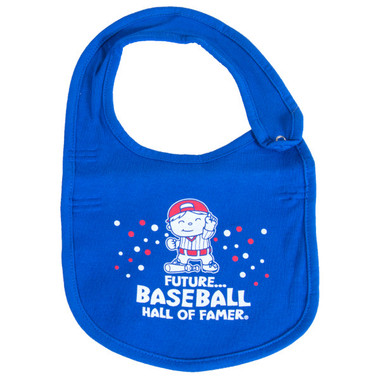 Baseball Hall of Fame Royal Baby Bib