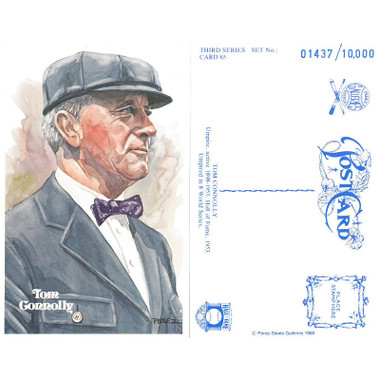 Perez-Steele Tom Connolly Limited Edition Postcard