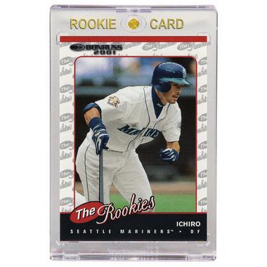 Ichiro Suzuki Seattle Mariners 2001 Donruss The Rookies # R104 Rookie Card
