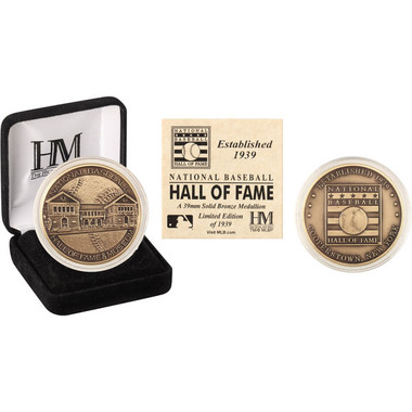 Highland Mint Baseball Hall of Fame Bronze Collector's Coin