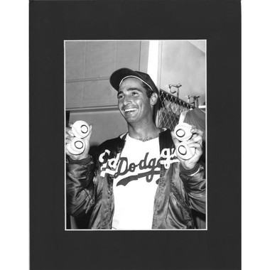 Matted 8x10 Photo- Sandy Koufax 4 No Hitters