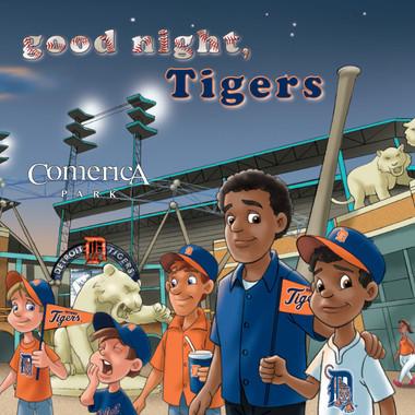 Good Night, Tigers Board Book