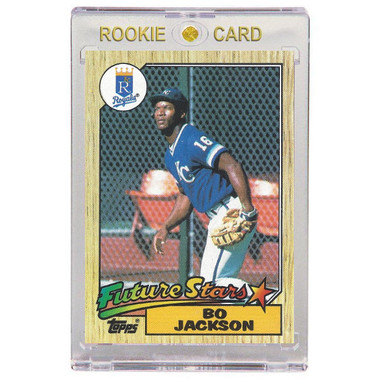 Bo Jackson Kansas City Royals 1987 Topps # 170 Rookie Card