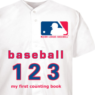 Major League Baseball 123: My First Counting Board Book