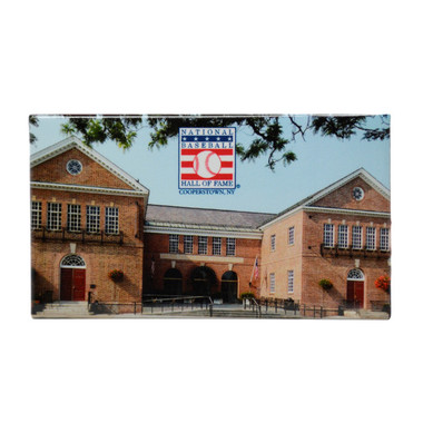 Baseball Hall of Fame Building Image Magnet
