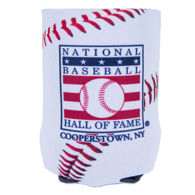 Baseball Hall of Fame 12 oz. Stitches Can Cooler