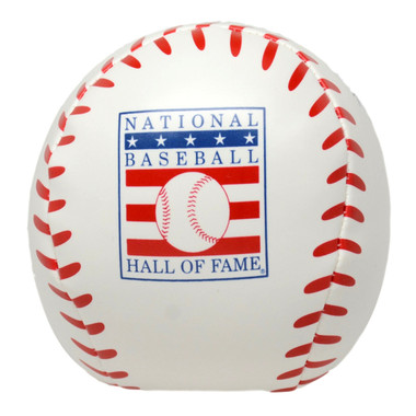 Baseball Hall of Fame 6 Inch Softee Logo Baseball
