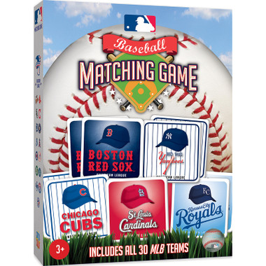 MLB Matching Board Game