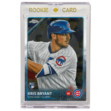 Kris Bryant Chicago Cubs 2015 Topps Chrome # 112 Rookie Card