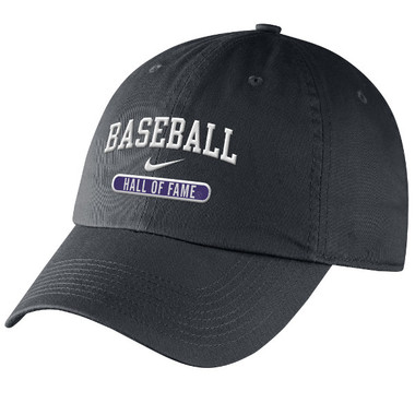 Women's Nike Baseball Hall of Fame Gray Campus Adjustable Cap