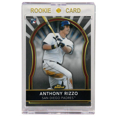 Anthony Rizzo San Diego Padres 2011 Topps Finest # 97 Rookie Card