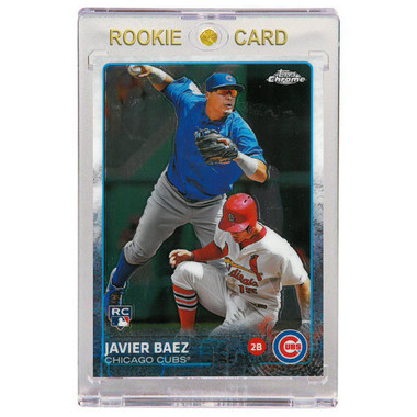 Javier Baez Chicago Cubs 2015 Topps Chrome # 89 Rookie Card