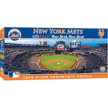 MasterPieces New York Mets Citi Field 1000 Piece Panoramic Puzzle