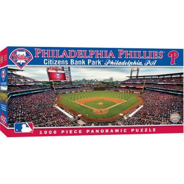 MasterPieces Philadelphia Phillies Citizens Bank Park 1000 Piece Panoramic Puzzle