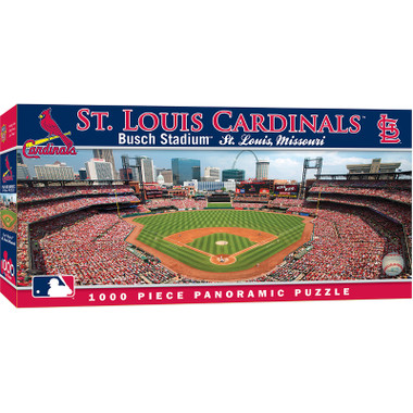 Masterpieces St. Louis Cardinals Busch Stadium 1000 Piece Panoramic Puzzle