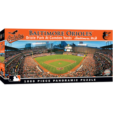 MasterPieces Baltimore Orioles Camden Yards 1000 Piece Panoramic Puzzle