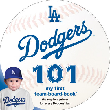 Los Angeles Dodgers 101 Baby Board Book