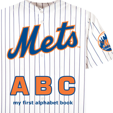 New York Mets ABC Baby Board Book