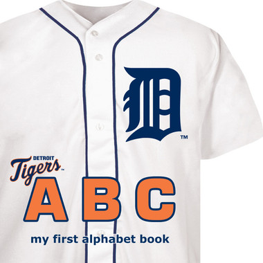 Detroit Tigers ABC Baby Board Book