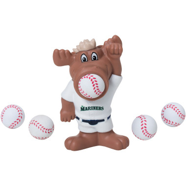 Hog Wild MLB Seattle Mariners Moose Sqeeze Popper