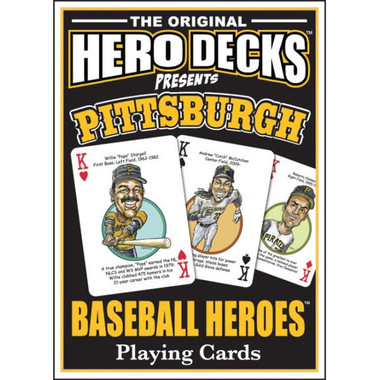 Hero Decks Caricature Playing Cards For Pittsburgh Pirates Fans