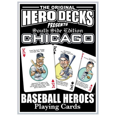 Hero Decks Caricature Playing Cards For Chicago White Sox Fans