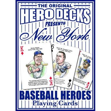Hero Decks Caricature Playing Cards For New York Yankees Fans