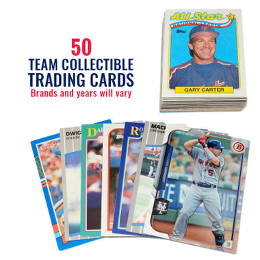 New York Mets 50 Card Team Baseball Card Lot