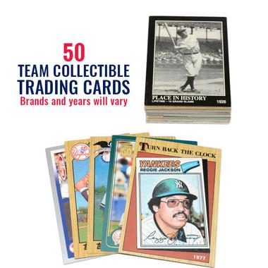 New York Yankees 50 Card Team Baseball Card Lot