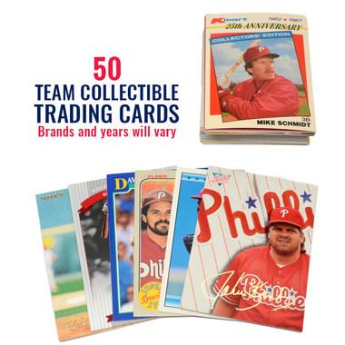 Philadelphia Phillies 50 Card Team Baseball Card Lot